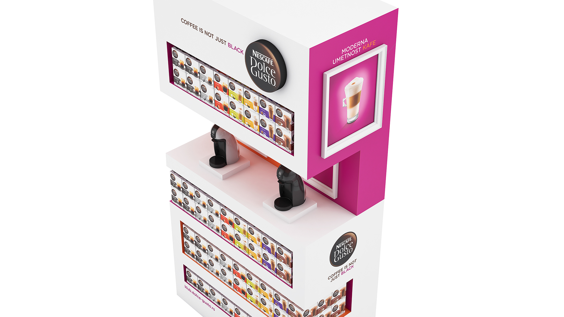 Nescafe Dolce Gusto coffee aparat